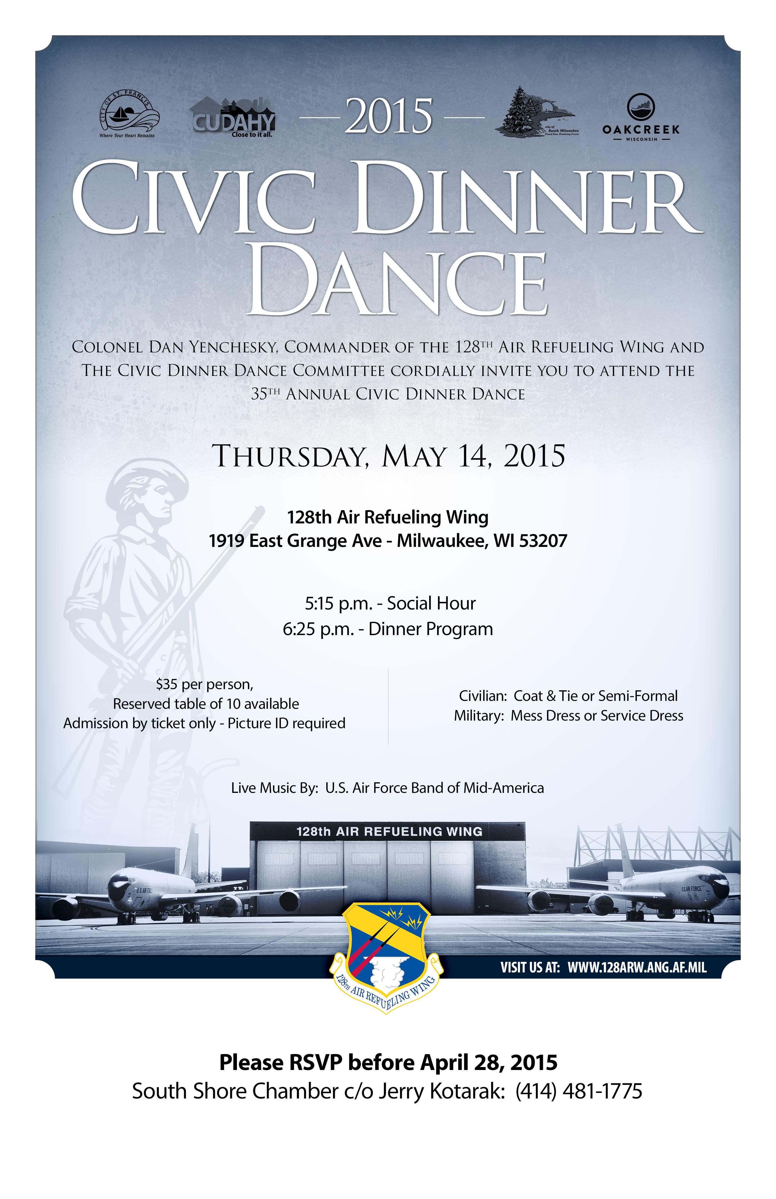 128th ARW Civic Dinner Dance 2015 (2)